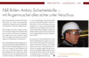 AMBRIC - Presse